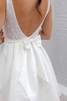 Marie Laporte robe romantique nœud