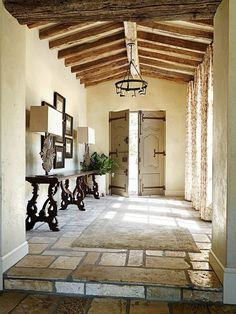 Discover inspired interior design with these photos of a rural French estate design by David Michael Miller Associates in Scottsdale, Arizona. Contact us today to learn more about starting your own home renovation or redesign project. Interior And Exterior, Interior Design, Interior Sketch, Studio Interior, Cafe Interior, Interior Styling, Interior Architecture, Entry Hallway, Entry Doors