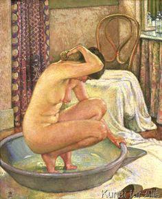 Theodore van Rysselberghe - Nu au tub