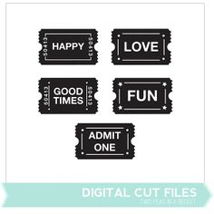 Cute tuckets! Free Cut File by Two Peas - Two Peas in a Bucket