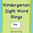 (Instead of a binder ring we're using a brad to attach them, only because I don't have any binder rings) Do your students need extra practice with sight word fluency? These cards can be laminated and made into word rings for daily practice. The words o. Teaching Sight Words, Sight Word Practice, Sight Word Games, Sight Word Activities, Kindergarten Sight Words Printable, Lila Kindergarten, Kindergarten Language Arts, Teaching Reading, Guided Reading