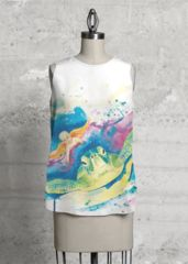 Endangered Sea Turtle Top - Art by Buttafly ( Vanessa Brünsing ) !! Isn't this lovely