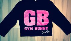 Gym bunny crop top @hushactivewear