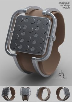 Design submitted by Dante from Indonesia. The idea for this watch is from a system of cylinder head pistons of a vehicle engine, where the pistons move up and down.