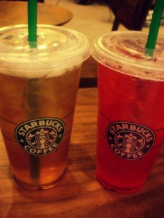 Okay so it's not exactly coffee but it comes from Starbucks so I had to put it on here. Favorite summertime drink for me. Passion Fruit or Black Tea Lemonade, Shaken and Sweetened.