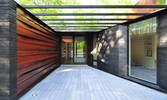 Pleated House. Johnsen Schmaling Architects. Door County, Wisconsin.