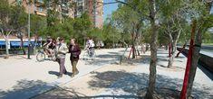 West 8 Urban Design & Landscape Architecture / 作品 / 馬德里曼薩納雷斯河岸更新景觀工程(Madrid Rio)