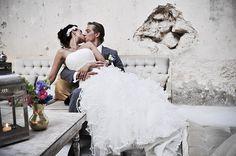 Mexico hacienda wedding photography portrait / Retrato de boda en hacienda de México