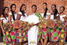 African Fashion Ankara, African Style, African Beauty, African Wedding Dress, African Dress, Wedding Dress Types, Wedding Dresses, Ghana Traditional Wedding, Ghana Wedding