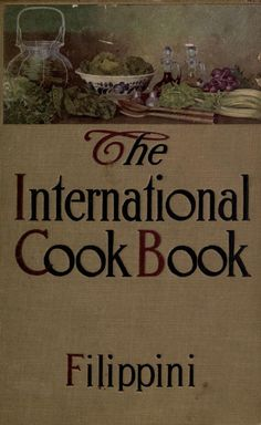 The international cook book; over 3,300 recipes...