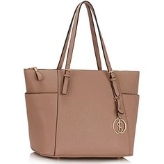 38ab01911421 LeahWard Womens Faux Leather Tote Handbags Large Shoulder Shopper Bags NUDE  BAG     For more information