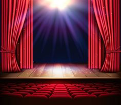 How to Draw a Festive Theatre Stage in Adobe Illustrator Background Wallpaper For Photoshop, Stage Background, Background Drawing, Luxury Background, Episode Interactive Backgrounds, Episode Backgrounds, Certificate Background, Stage Curtains, Life Poster