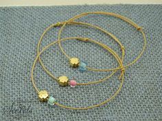 Bijoux Diy, Projects To Try, Beaded Bracelets, Hoop Earrings, Accessories, Jewelry, Chains, First Holy Communion, Jewlery