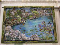 .landscape quilt