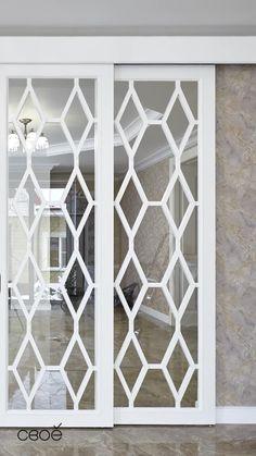 Door Design Interior, Interior Doors, Sliding Room Doors, Glass Partition, Decoration, Glass Door, Living Room, House, Furniture