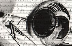Most popular tags for this image include: art, music and trombone