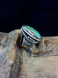 Size 7.75 Vintage Navajo Sterling Silver by PoohsCornerOTheWorld