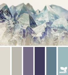 mineral tones color palette from Design Seeds