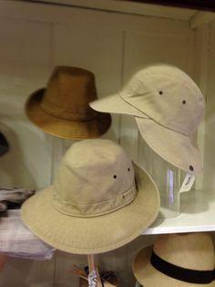 Cappelli Safari in Cotone Egiziano.