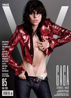 Lady Gaga V Magazine Cover   Lady Gaga Naked PHOTOS   Styleite