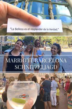MARRIOTT SCHNITZELJAGD IN BARCELONA – AUF DEN SPUREN DES MODERNISMUS #Barcelona