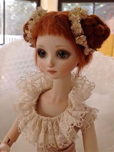 My beautiful porcelain doll by Ana Salvador!!!!
