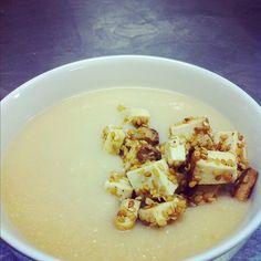 La Zuppa di broccoli e cavolfiore con la ricetta spiegata passo passo su Blogo
