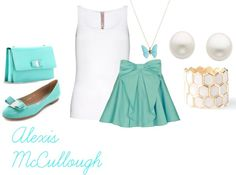 """""""Cute In Turquoise"""" by lexie-is-awesome on Polyvore"""