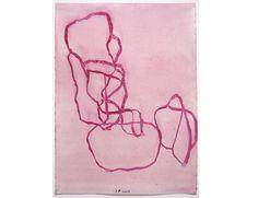 Jürgen Partenheimer ohne Titel  2002 Aquarell auf Papier 26 x 19 cm