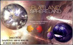 Sphereland, the sequel to the fabulous Flatland movie, arrives on DVD in 2012, taking us further into the fourth dimension.