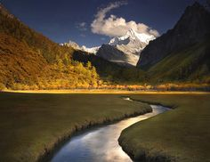 Yading in Sichuan, China.