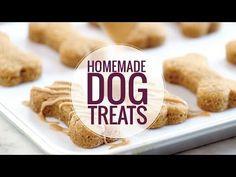 Homemade Dog Treats Recipe - Pinch of Yum