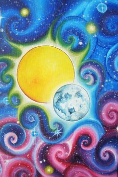 Sun and Moon by *Kyla-Nichole on deviantART