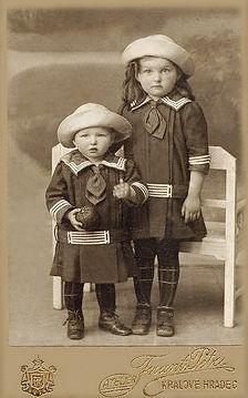 C.1910 - Sailor Siblings ~ So Cute