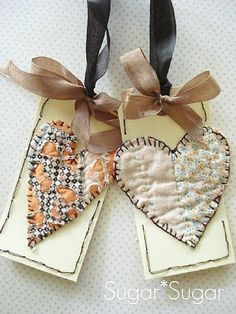 Adorable Heart Tags