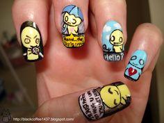 Emo Nail Designs ...