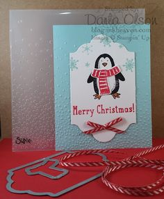 Inkheaven, Snow Friends, Snow Place, Stampin' Up!, Christmas Cards