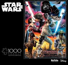 STAR WARS 1000pc Vintage Art: You'll Find I'm Full of Surprises Puzzle