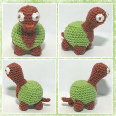 schilpad, haken, amigurimi, crochet, tortoise