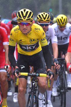 104th Tour de France 2017 / Stage 2 Geraint THOMAS Yellow Leader Jersey / Dusseldorf Liege / TDF /