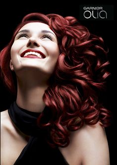 olia by garnier hair color Red Hair Day, Garnier Hair Color, At Home Hair Color, Hair Colour, Gorgeous Hair Color, Natural Hair Styles, Long Hair Styles, Hair Quality, Different Hairstyles
