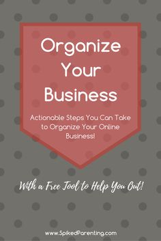 Outline Your Business