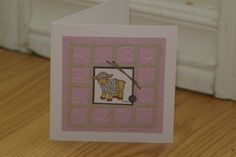 Sheep Thanks by mayodino - Cards and Paper Crafts at Splitcoaststampers