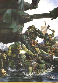 warhammer 40k,фэндомы,art,арт,красивые картинки,orks,warhammer 40000