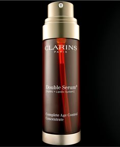 Clarins Double Serum Complete Age Control Concentrate, 1 oz - Skin Care - Beauty - Macy's