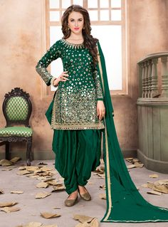 Excited to share the latest addition to my shop: Green colore designer patiyala dress punjabi style patiyala suit party wear salwar kameez Latest Salwar Suits, Punjabi Salwar Suits, Punjabi Dress, Indian Salwar Kameez, Patiala Pants, Churidar, Designer Salwar Kameez, Designer Sarees, Salwar Suits Party Wear