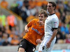 Kevin Doyle scores his 1st goal of the season against Derby at Molineux (25/8/12)