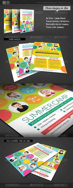 Soccer Camp Flyer