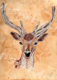 Mixed Media Deer £40.00