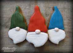 Santa Cookies by Melissa Joy Cookies